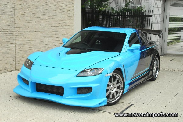 Neila's RX-8 in Tokyo Drift - Fast & Furious 3.