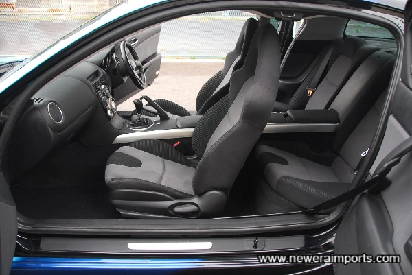 Rear doors on an RX-8 are suicide design.