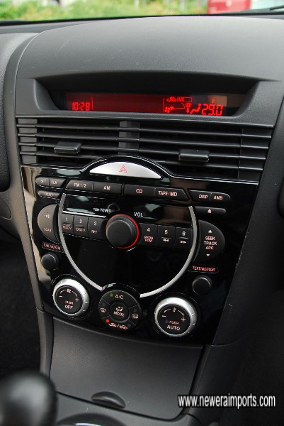 6 CD changer sound system with climate control