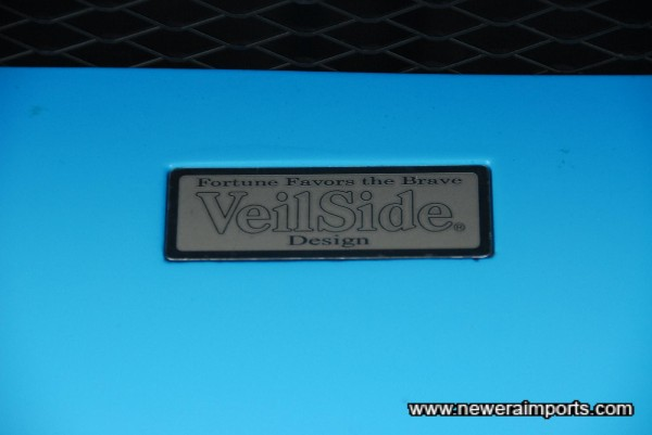 Veilside - Fortune Favours the Brave.