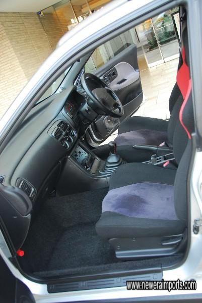 Interior's in excellent original condition!