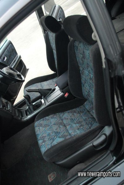 Interior is in excellent condition.
