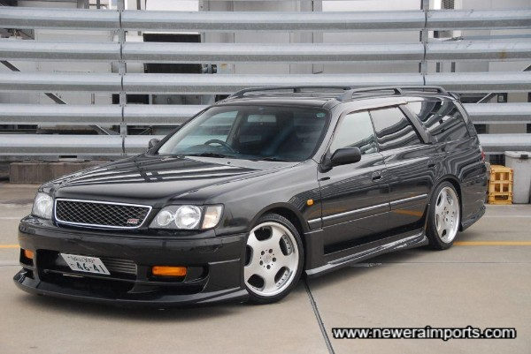 Body kit gives stunning stance to this car!
