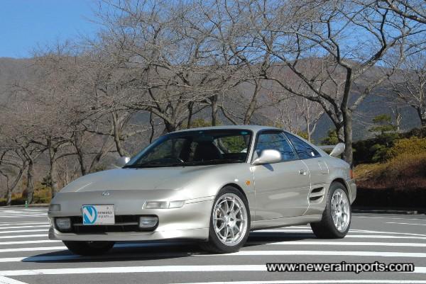 Stunning - Very rare Rev 5 MR2 GT Turbo!