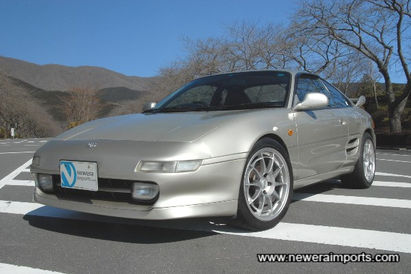 You won't find a better condition MR2 GT Turbo.