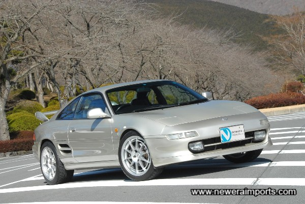 Enkei NT03 Wheels suit this car very well.