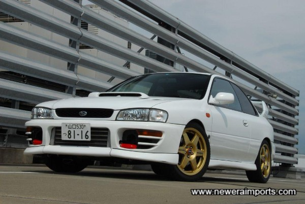 The best modified Type R impreza we've had yet.