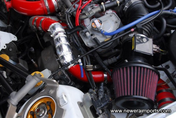 Apexi Power Intake kit.
