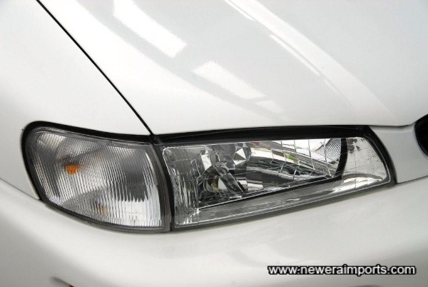 Sti Version 6 headlights.