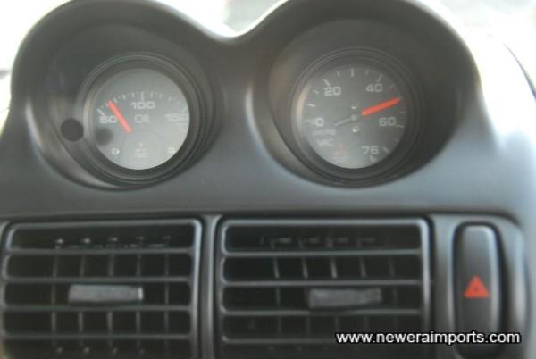 Original option gauge upgrade.