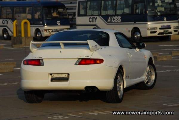 Late model rear spoiler fitted of course.