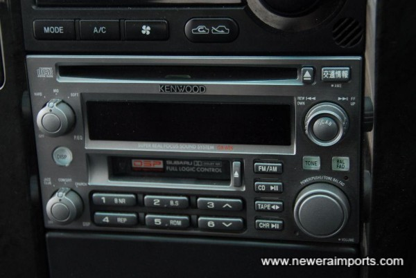 Kenwood Audio is of high quality.