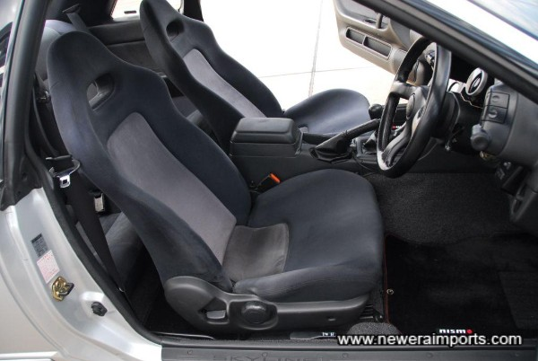 Driver's seat in excellent condition also.