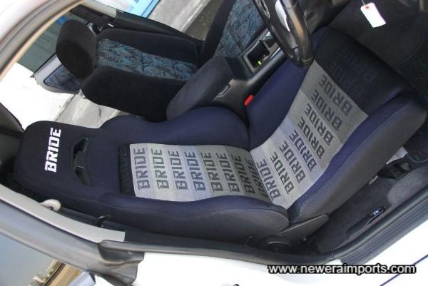 Bride driver's seat.