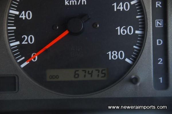 Low mileage!