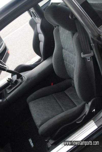Interior is in excellent condition - in keeping with the car's low mileage.