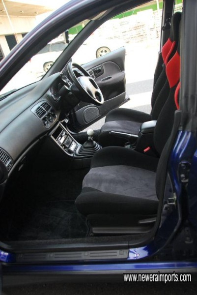 Interior is in similarly excellent and unworn condition.