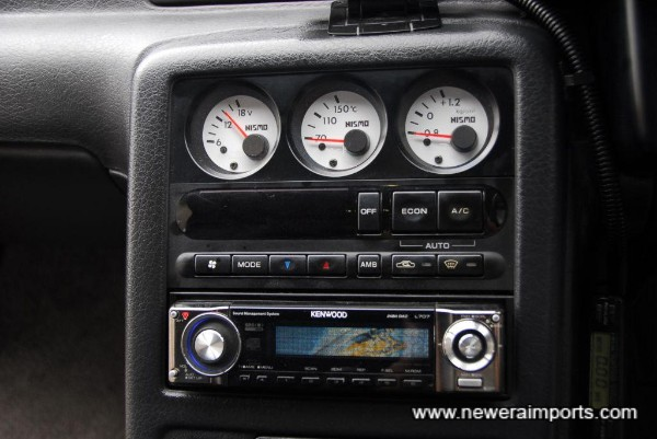 High quality Kenwood head unit. Speakers are also upgraded.