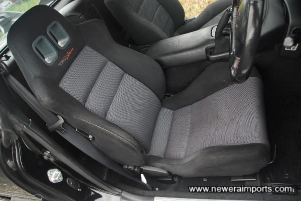 Genuine TRD Driver's seat.