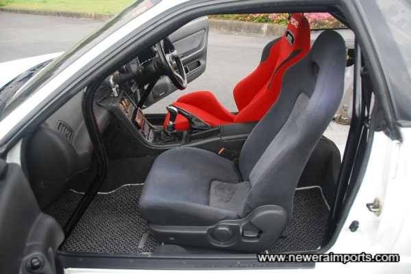Interior is in excellent condition - In keeping with the low genuine mileage.