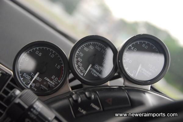 Greddy gauges.