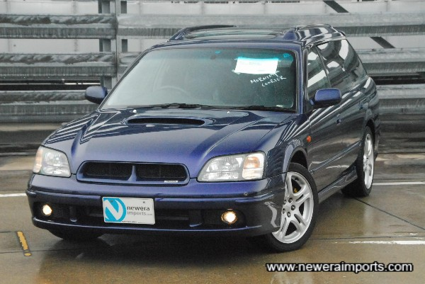 The highest spec Legacy GT-B we've found yet - this car has every possible option!