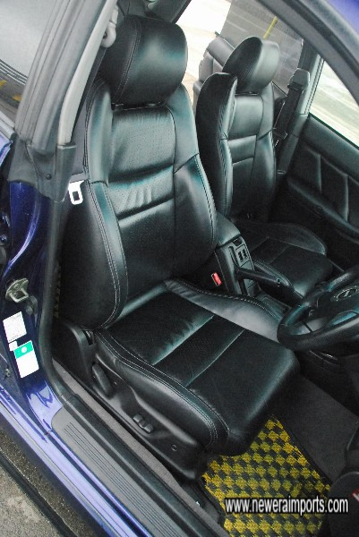 Driver's seat is in excellent condition.