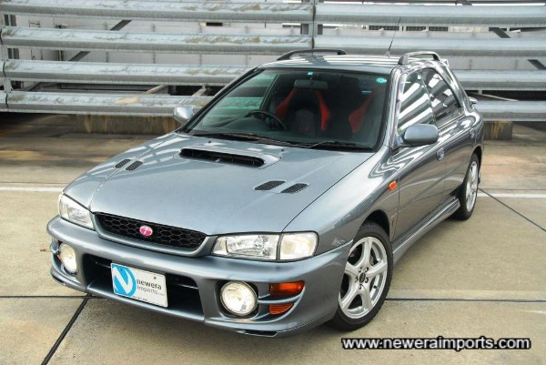 Original option Subaru driving lights (Covers also included).
