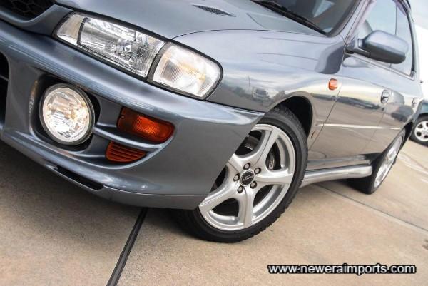 Original Option Subaru Driving lights.