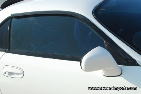 Original option wind deflectors.