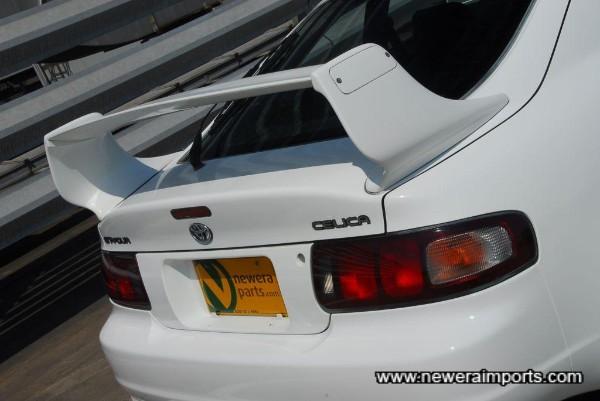 TRD rear spoiler (Genuine).