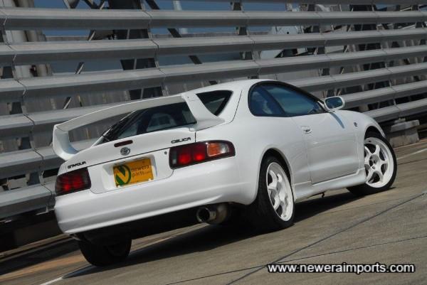 Facelift model has updated rear lights.