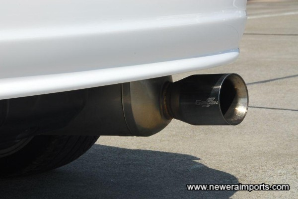 5 Zigen Super Border Cannon Ball cat back exhaust (Stainless 304 cat back).