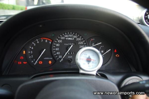 Blitz Boost gauge