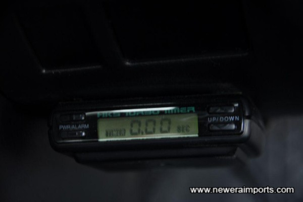 HKS Turbo timer.