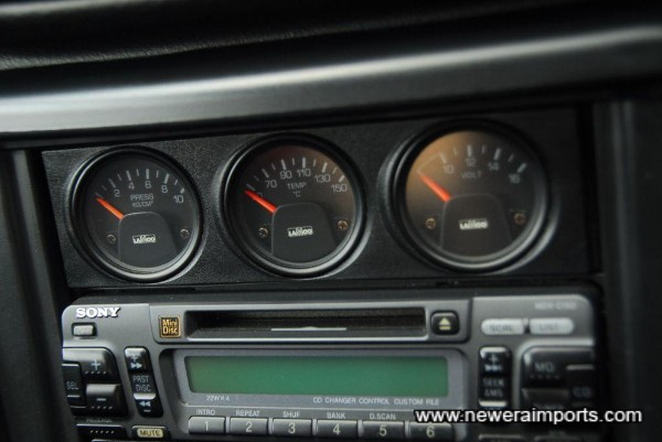 Lamco optional gauge cluster - as supplied by Subaru when new.