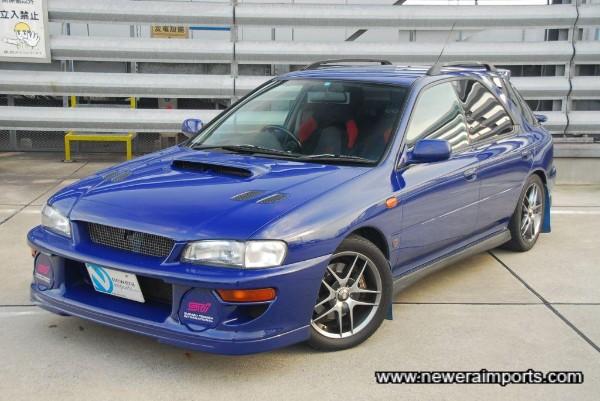 Very rare 555 Impreza Sti Sport Wagon.