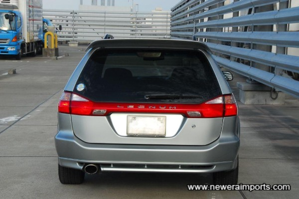 Facelift rear lends a much modernised look compared to earlier models.