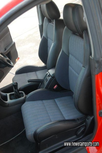 Interior is in unmarked condition - in keeping with low genuine mileage.
