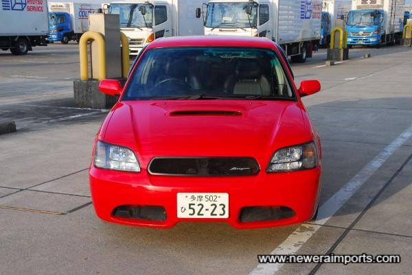 Blitzen front bumper design is unique.