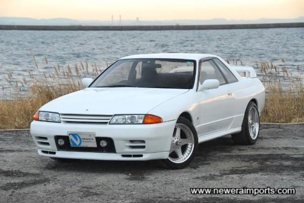 Unusual to find a 32 GT-R this tidy nowadays.