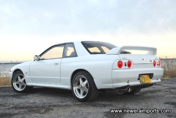 White R32 GT-R's seem particularly sought after this year.
