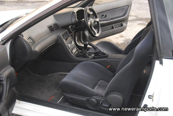 Interior is in excellent condition in keeping with low genuine kms.