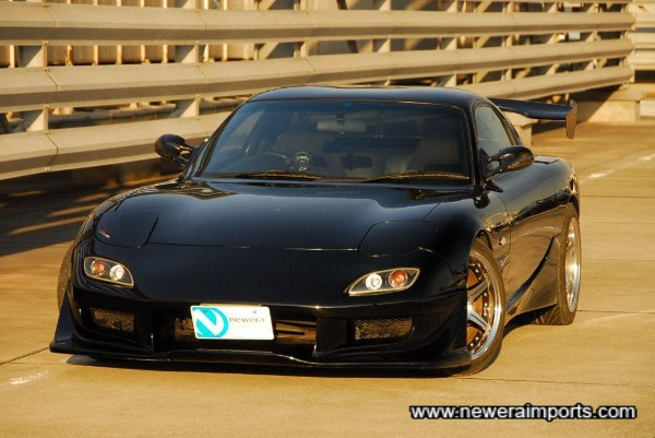 Stunning condition 1998 RX-7 - with well chosen cosmetic modifications.