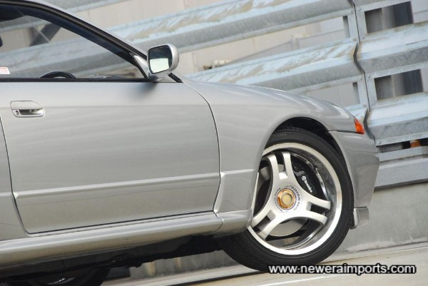18'' Advan Racing SA3R wheels - Not everyone's taste, so just in case  we have some 17'' Panasport G7's with good tyres available at low price!