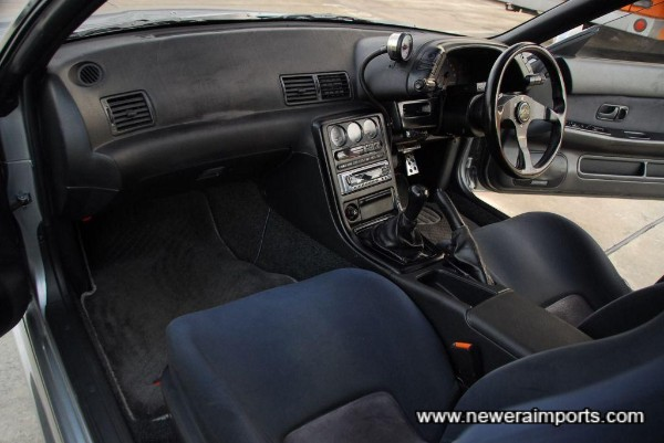 Interior is in top condition in keeping with low genuine mileage.