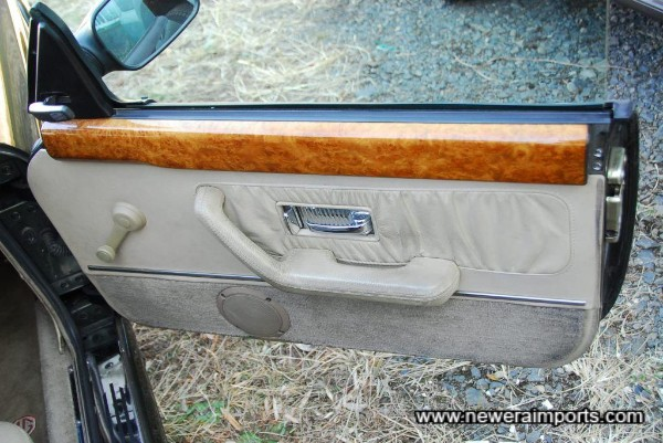 Interior's in excellent condition - all the veneer is in perfect condition. No cracks or delamination.