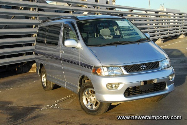 Toyota people carriers are the most sought after in Japan.