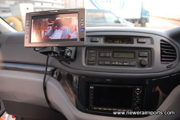 TV system included (May need conversion to work in UK, but would be compatible with a DVD player.
