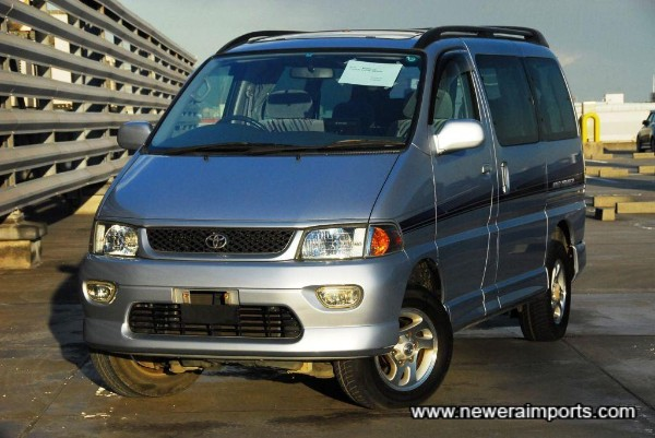 One of the latest yearToyota Turbo Diesel People Carriers available.
